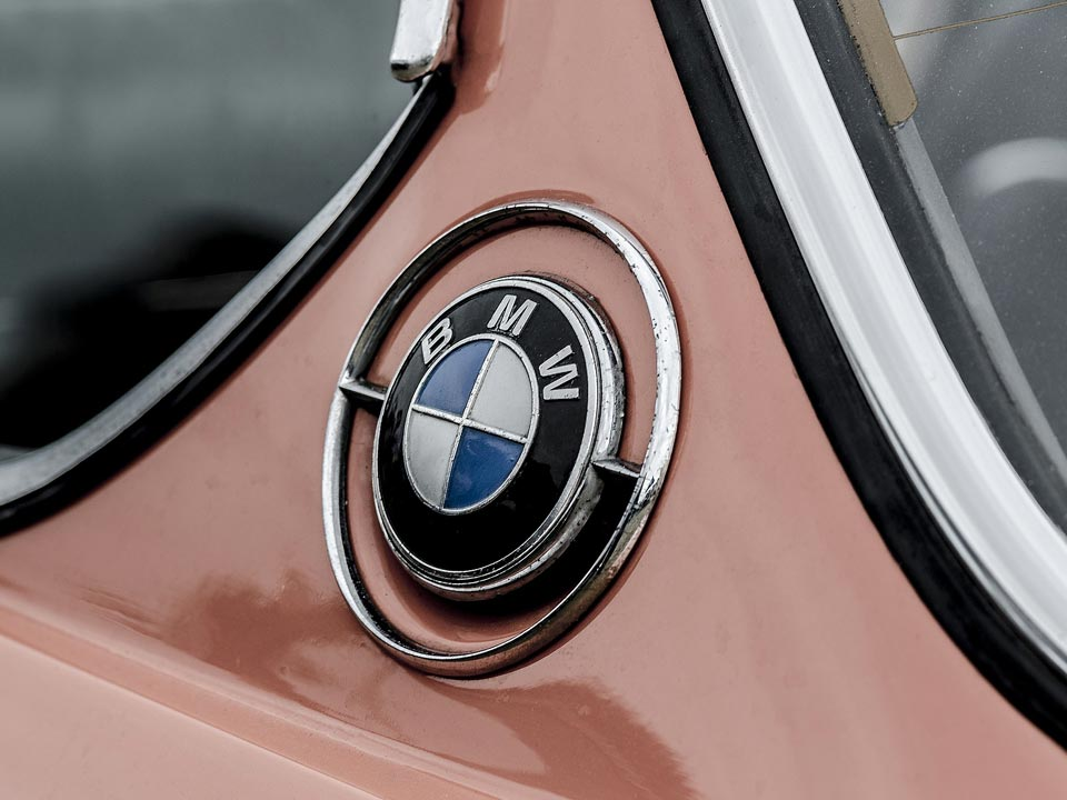BMW car badge | West Sussex Drains