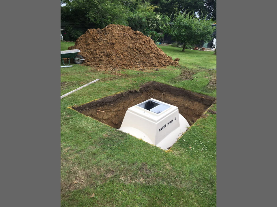 Septic tank installation | West Sussex Drains
