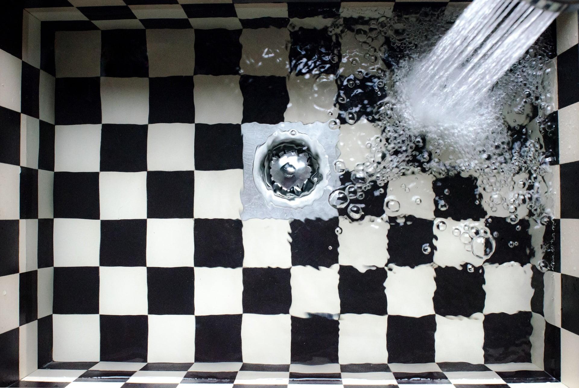 Water In sink   West Sussex Drains