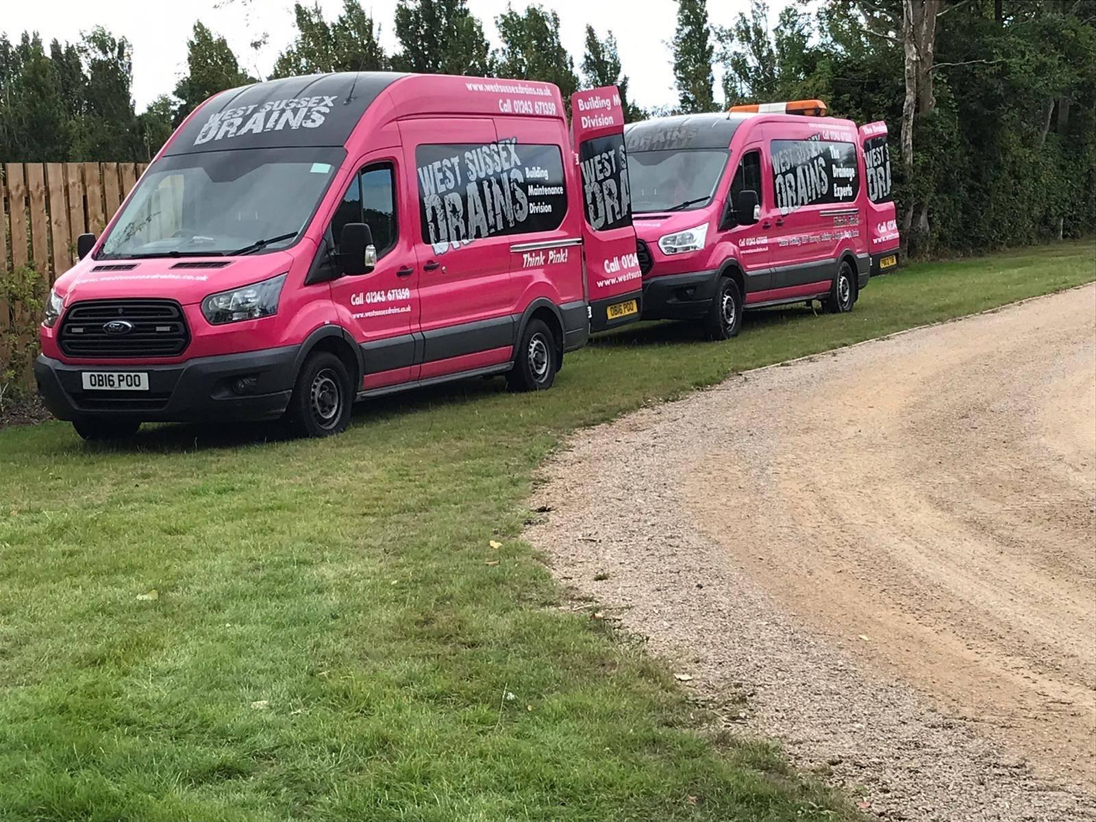 West Sussex Drains Vans | West Sussex Drains